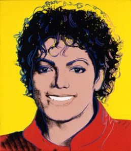 Michael Jackson portrait by Andy Warhol